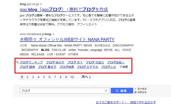 検索キーワードを意識したブログタイトルの付け方